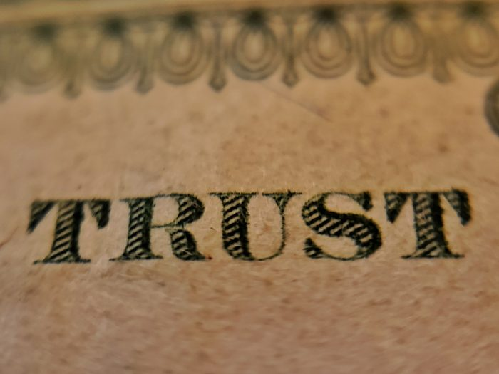 Trust Isn't a Given
